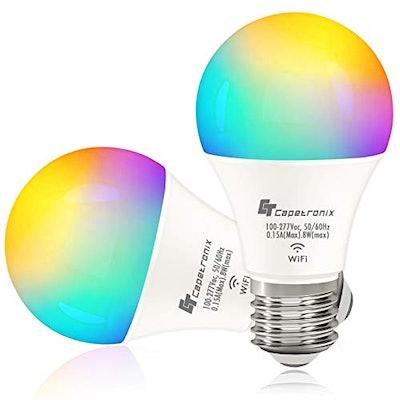 CAPETRONIX Smart Light Bulbs