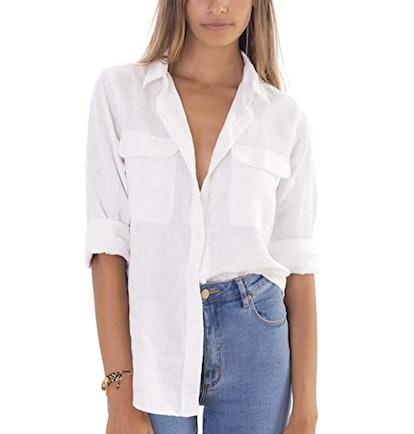CAMIXA Linen Shirt