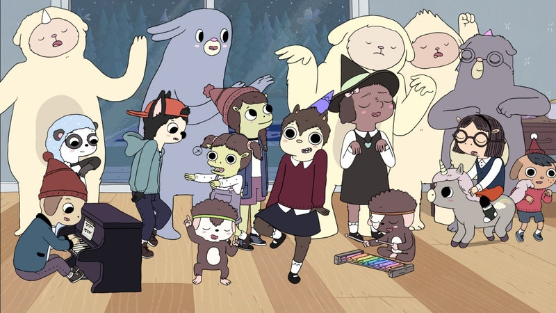 A still from the animated series 'Summer Camp Island.'