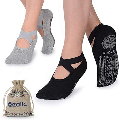 Ozaiic Non-Slip Yoga Socks