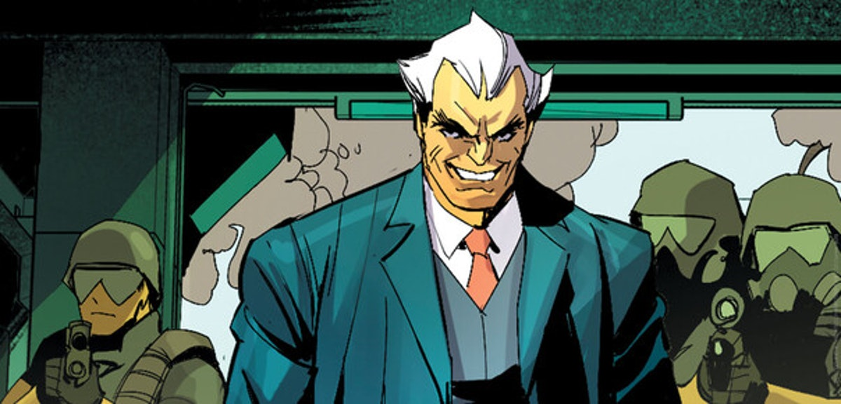 Simon Stagg as seen in the DC comics.