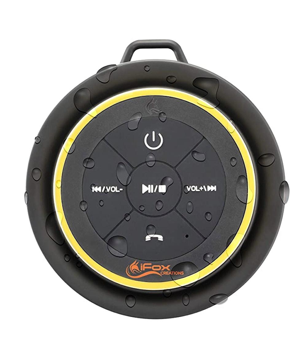 iFox Creations Waterproof Bluetooth Shower Speaker