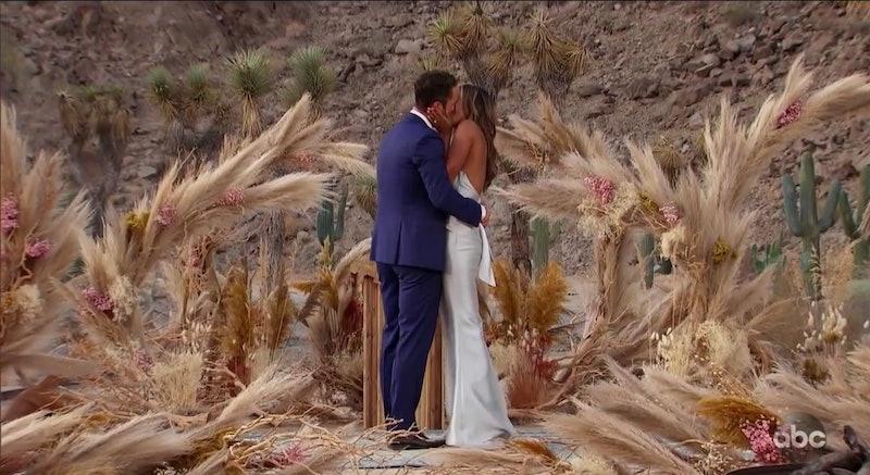 Tayshia and Zac C. getting engaged on 'The Bachelorette'