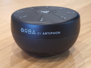 Artiphon Orba three-quarter view