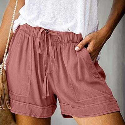 Dokotoo Casual Pocketed Shorts