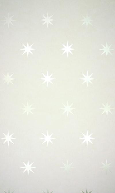 Coronata Star Wallpaper in Gold