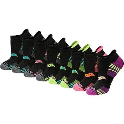 Saucony Women's Performance Heel Tab Athletic Socks (8 Pairs)
