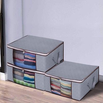 Awekris Foldable Large Storage Bags (3-Pack)