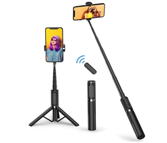 ATUMTEK Bluetooth Selfie Stick and Tripod