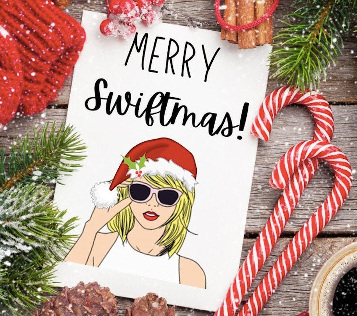 Merry Swiftmas Christmas Card - DIGITAL DOWLOAD