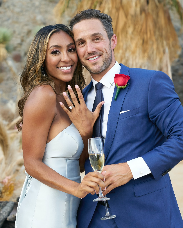 Tayshia Adams and Zac Clark get engaged