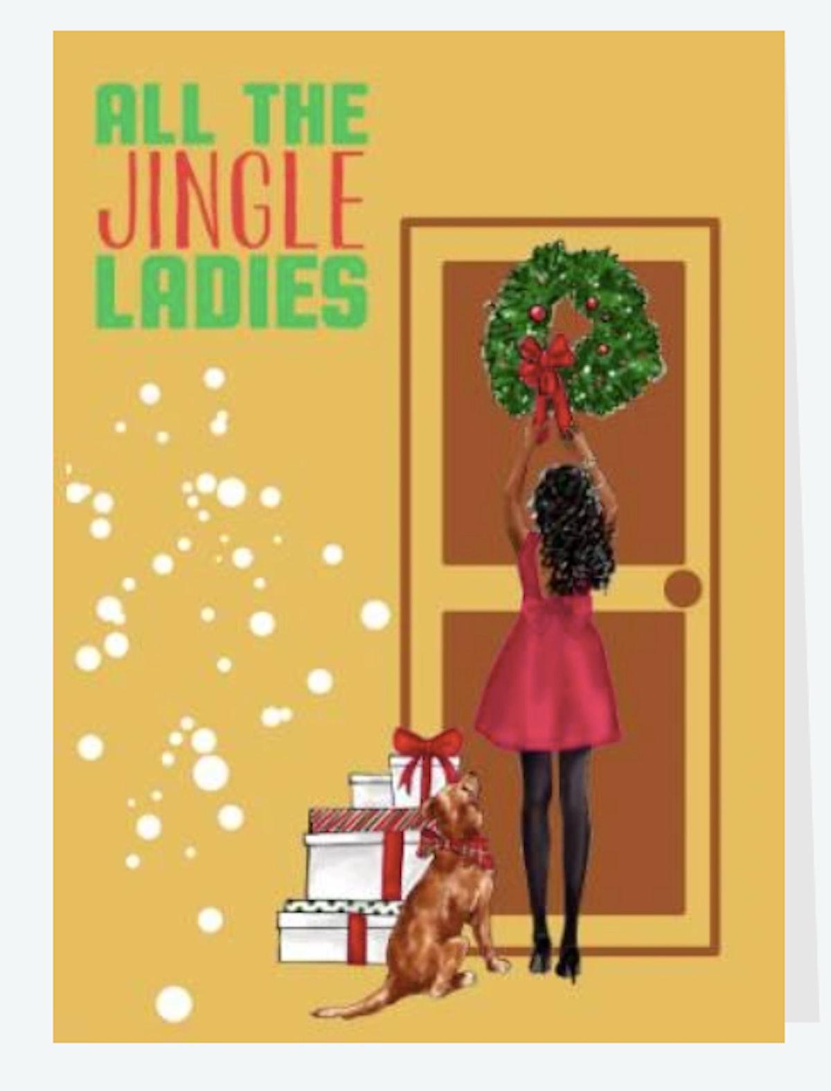 Jingle Ladies by Culture Greetings