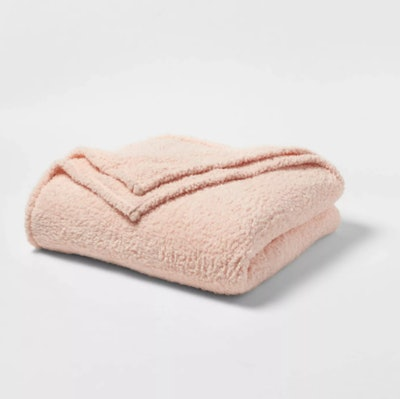 Sherpa Bed Blanket - Room Essentials™