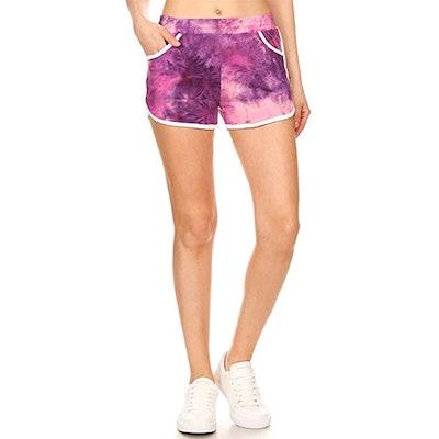 Leggings Depot Mid-Rise Shorts