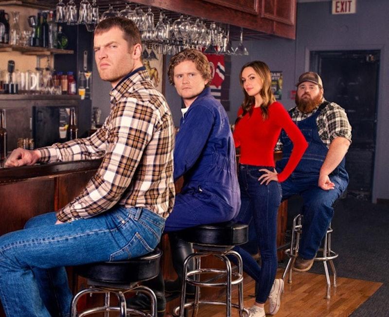 The cast of Hulu sitcom 'Letterkenny.'