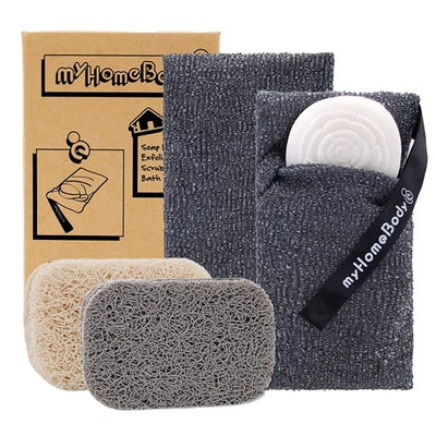 mHomeBody Exfoliating Soap Pouch (2-Pack)