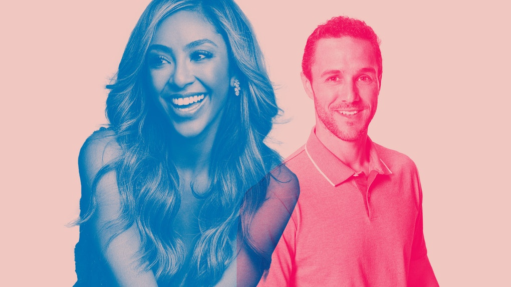 Tayshia Adams and Zac Clark from 'The Bachelorette'