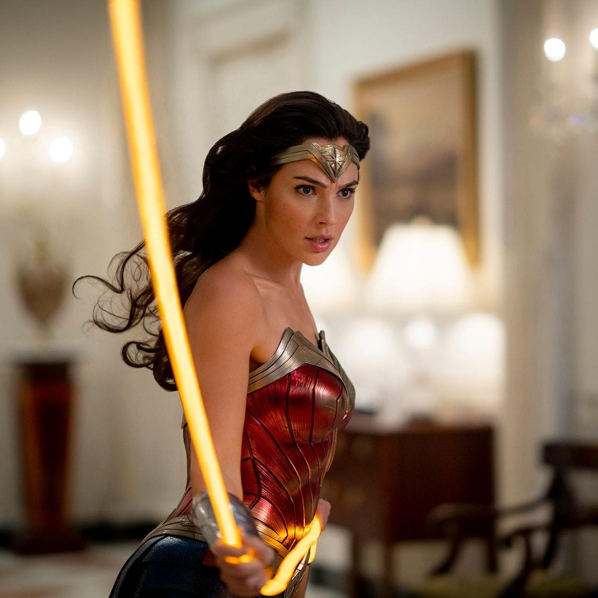 Gal Gadot as Diana Prince/Wonder Woman in Wonder Woman 1984.