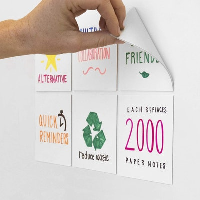 mcSquares Dry-Erase Sticky Notes (6 Pack)