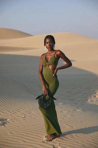 Serita Dress - Olive