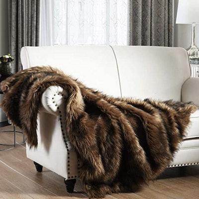 Horimote Home Faux Fur Throw