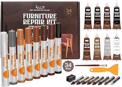 Katzco Total Furniture Repair Kit (34-Pieces)