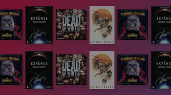 Composition of board game covers