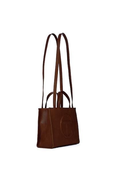 Medium Chocolate Shopping Bag