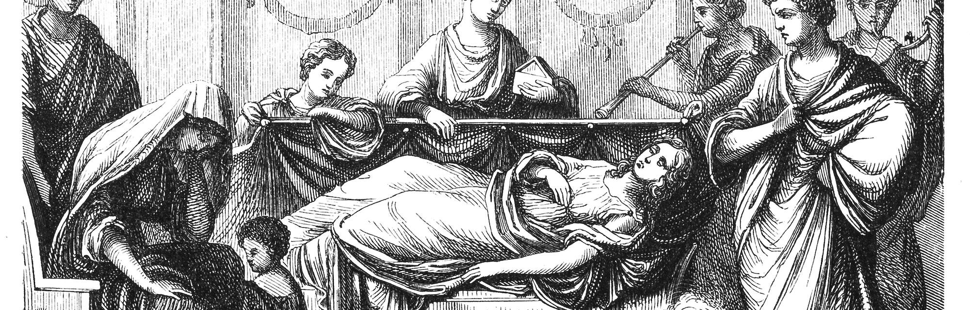 roman wake funeral