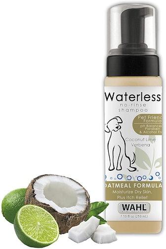 Wahl No-Rinse Oatmeal Dog Shampoo