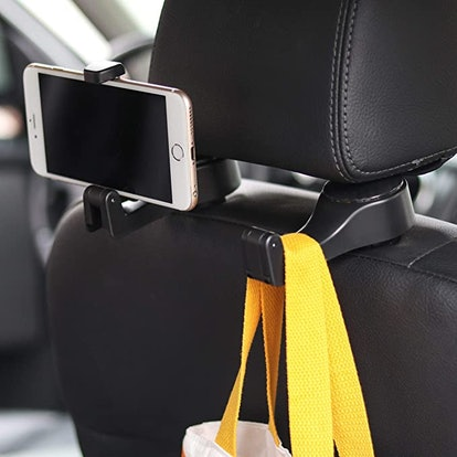 Amooca Headrest Phone Holder and Hook