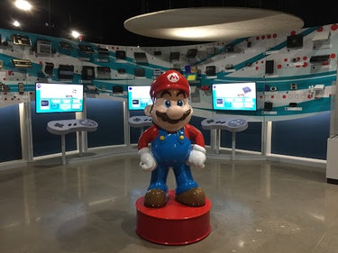 A photo of the National Videogame Museum