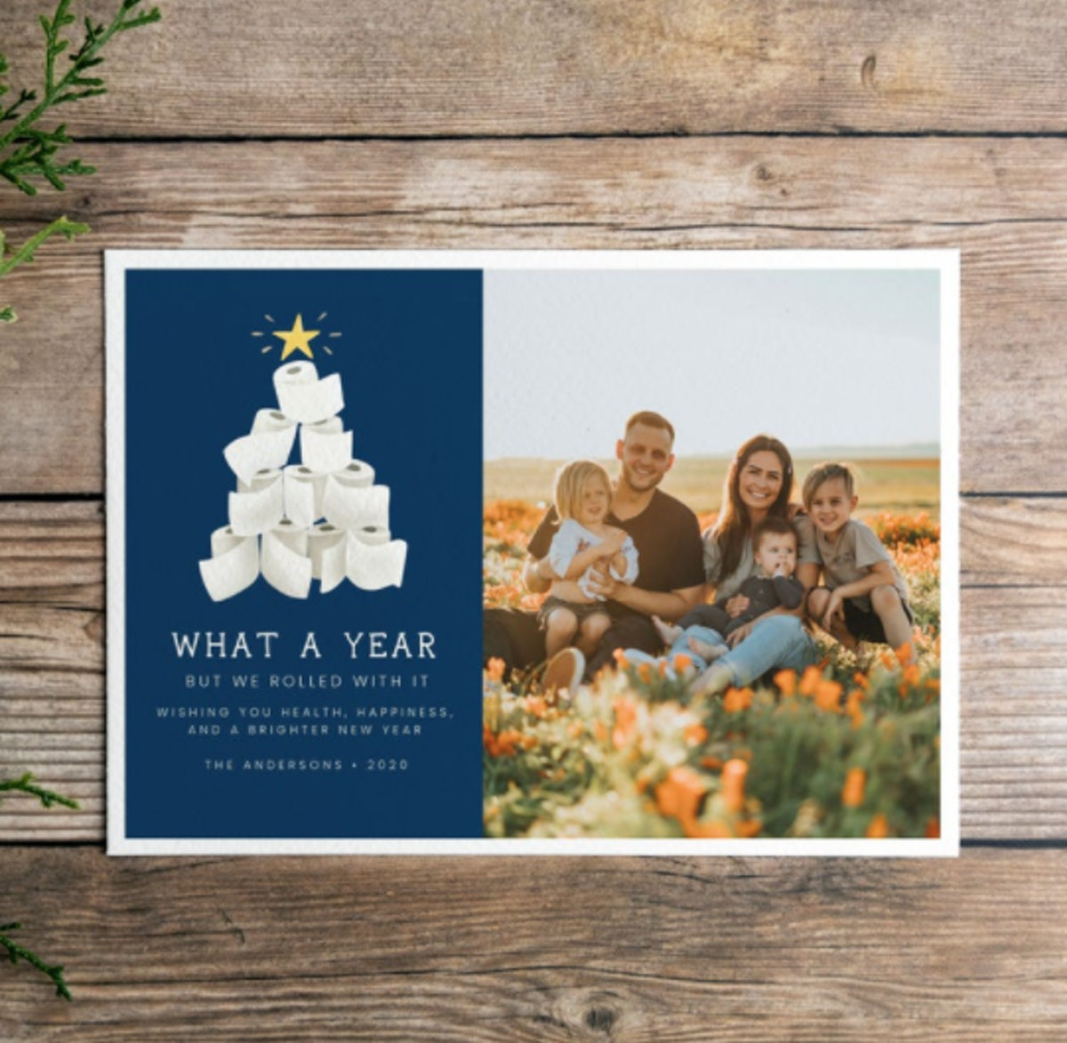 We Rolled With It 2020 Digital Holiday Card