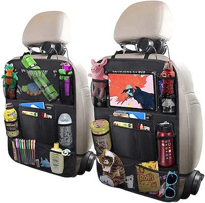 ULEEKA Car Back Seat Organizers (2-Pack)