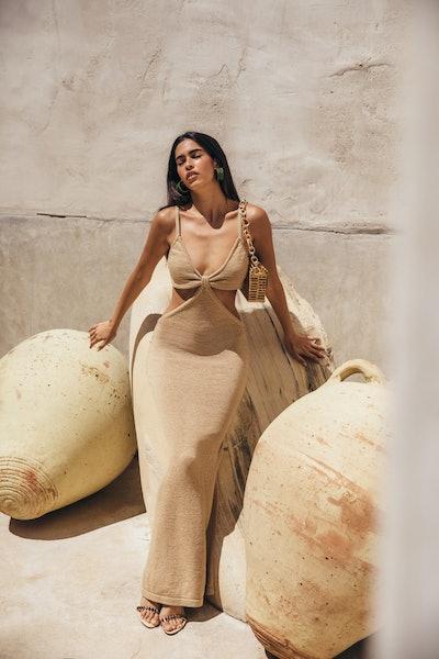 Serita Dress - Sand