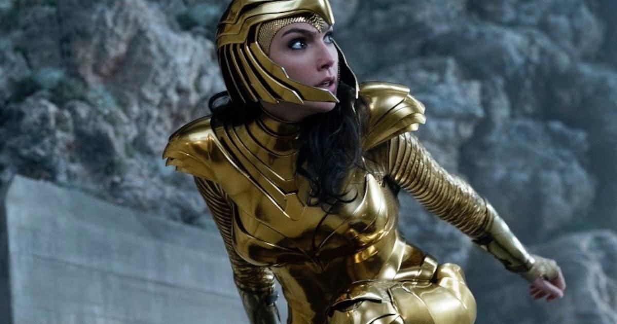 Gal Gadot in Wonder Woman: 1984.