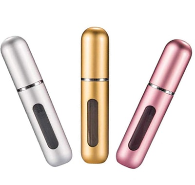 Censung Travel  Perfume Atomizer, .17 Oz (3-Pack)