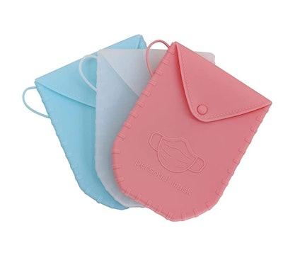 Ananko Mask Storage Box (3-Pack)