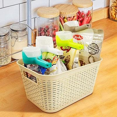 ELIX Food Storage Sealing Clips with Pour Spout (4-Pack)