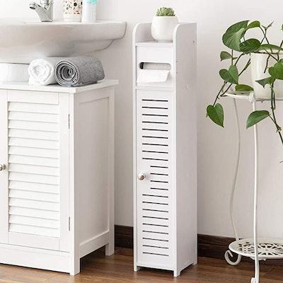 AOJEZOR Bathroom Storage Cabinet with Doors