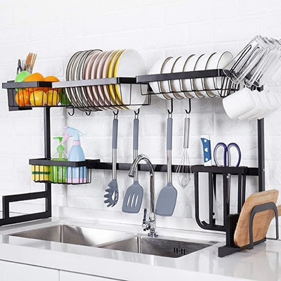 YIHONG Over the Sink Dish Drying Rack