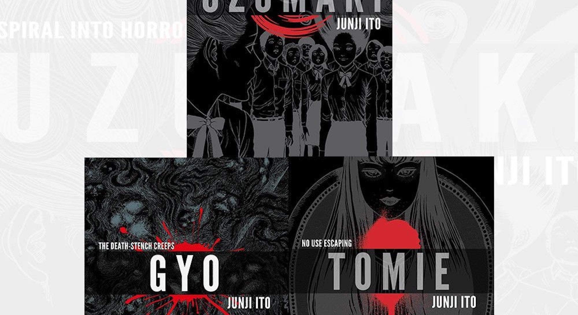 Three classic Junji Ito works.