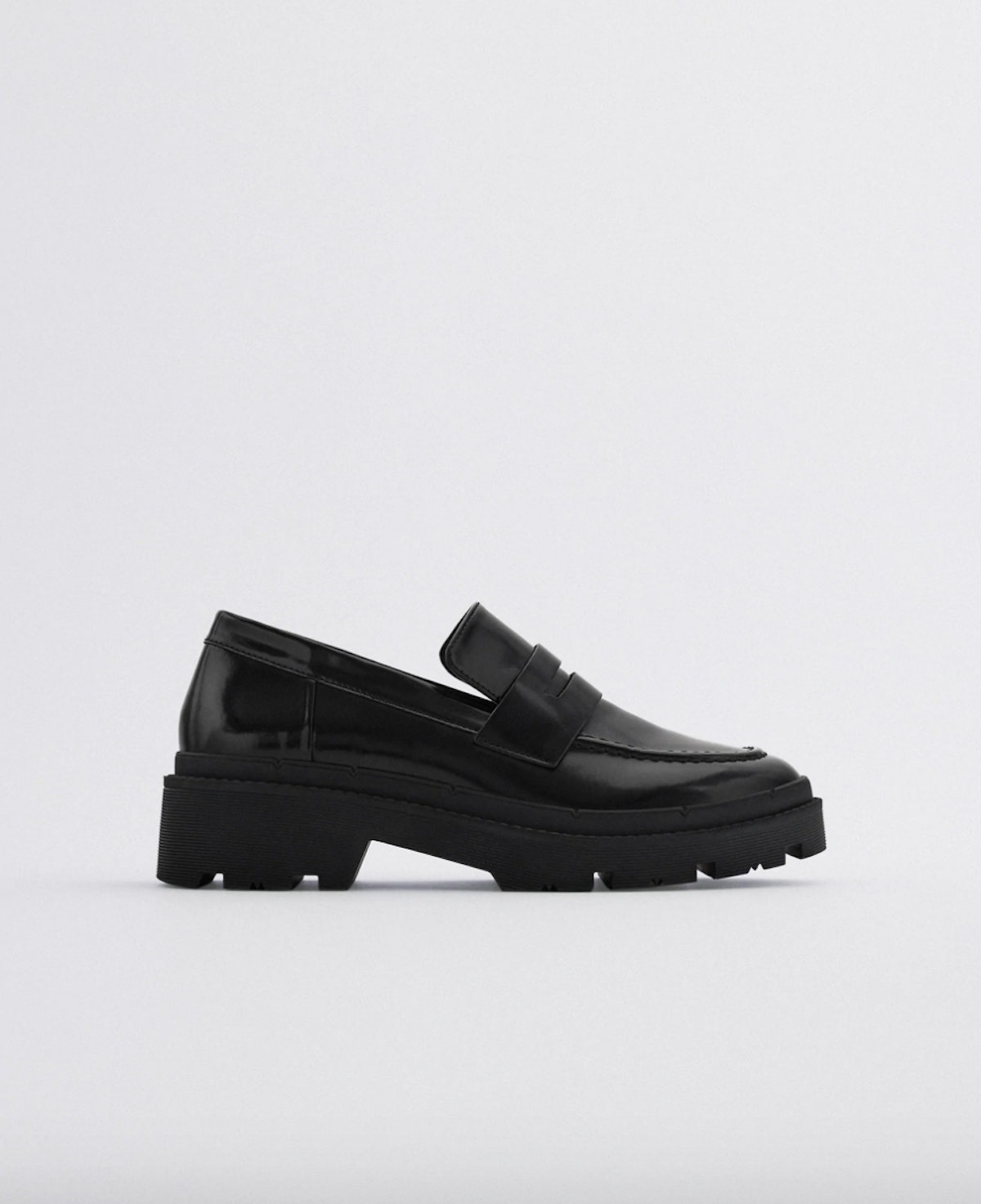 Treaded Sole Loafers