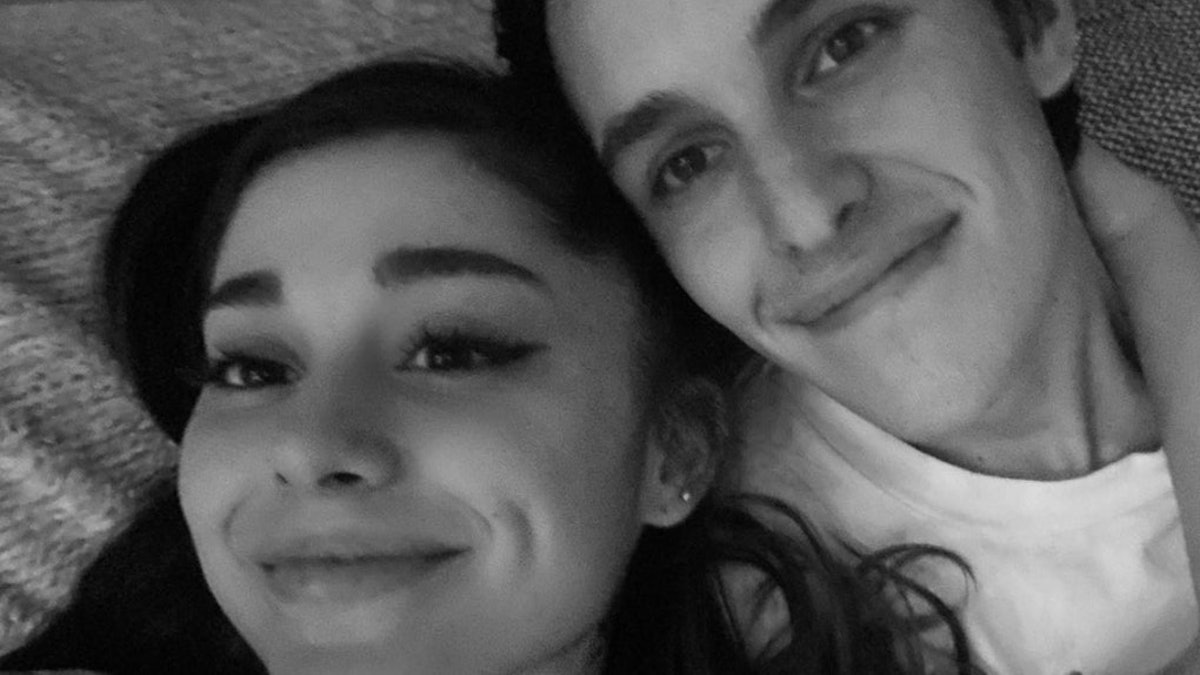 Ariana Grande and Dalton Gomez's Christmas 2020 photos celebrate their holiday together.