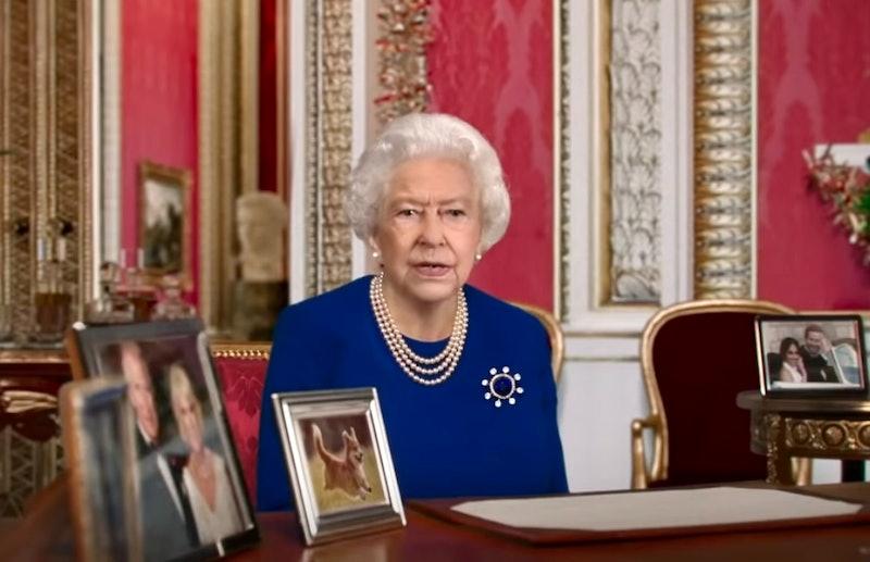 """Queen Elizabeth in """"Deepfake Queen: 2020 Alternative Christmas Message"""""""