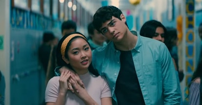 Lana Condor and Noah Centineo in To All the Boys I've Loved Before.