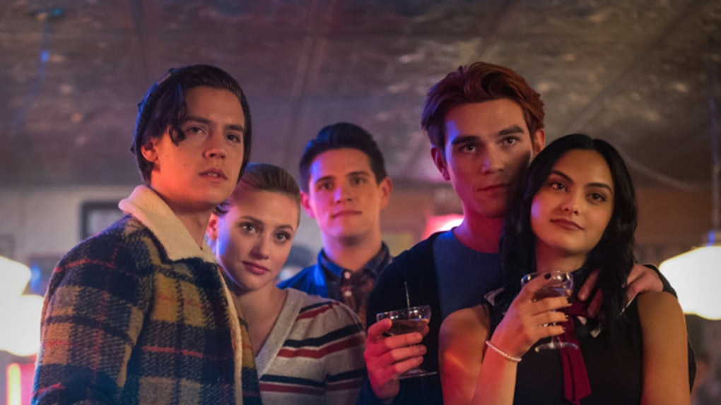 Archie, Veronica, Betty, and Jughead in Riverdale Season 4.