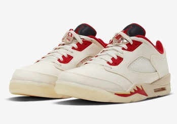 Air Jordan 5 Chinese New Year Wear-Away