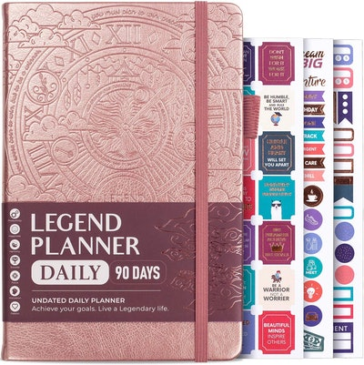 Legend Planner Daily 90-Day Journal