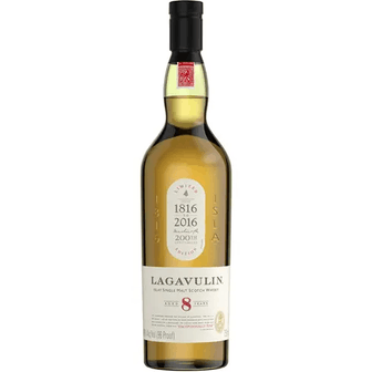 Lagavulin 8 Year Islay Single Malt Scotch Whiskey
